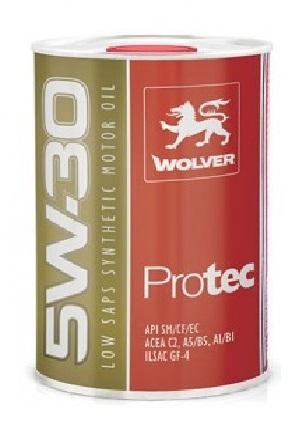 WOLVER ProTec  SAE  5W30 is a HC-Synthetic low viscosity engine oil of the latest generation with viscosity of SAE 5W30.