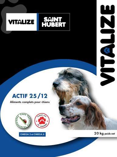 croquette chien actif vitalize
