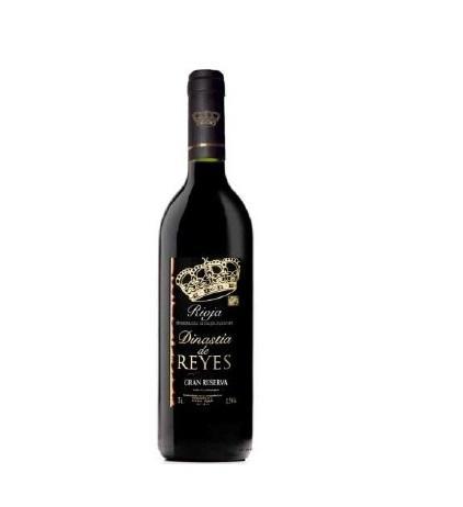 Excelente vino gran reserva D.O. Rioja Dinastia  de Reyes