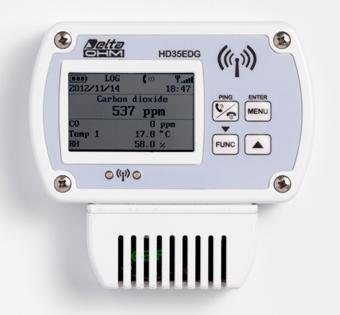 Serie di datalogger senza fili per la misura di temperatura, umidità, pressione differenziale, luce, UVA, pressione barometrica, CO2, CO, mA, Volt, disponibile anche nella versione impermeabile