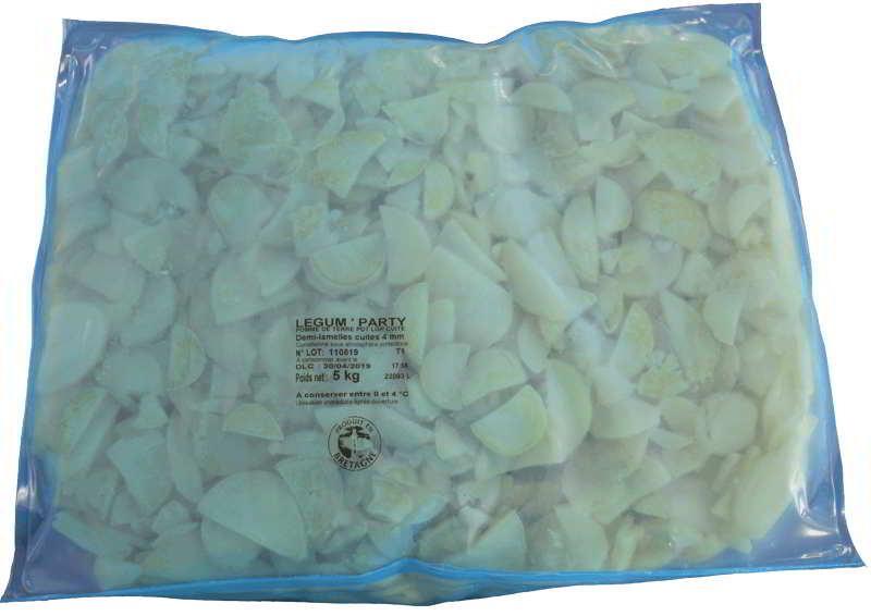 Pommes de terre demi-lamelles cuites 4 mm Légum'party