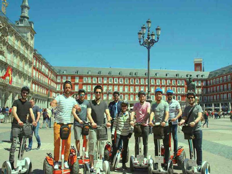 Ninebot Segway Tour in Madrid with Funky Rider.