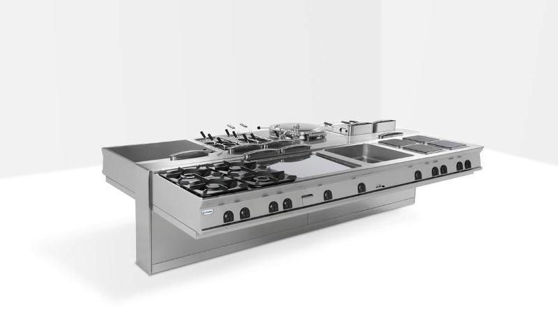 TECNO90 - a highly professional cooking line