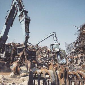 Schrott- und Metallgroßhandel