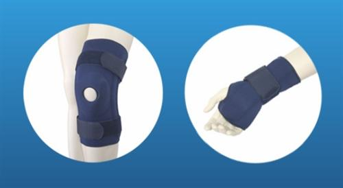 The field of orthopedics species expands with new products such as orthopedic belts, clamps, devices of NEOPRENE and splints