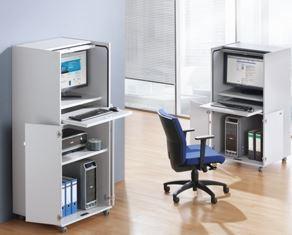 office akktiv Computerschrank