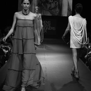 The summer collection inspired by the Balkan traditional dress  is awarded the Best Catwalk Award at the Athens Xclusive Designers Week in 2008.