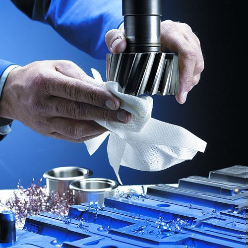 Machinery cleaning cloths