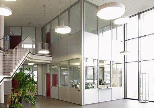 TIXIT Hallenbüros und Trennwandsysteme