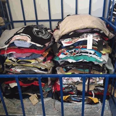 Esportazioni abiti usati