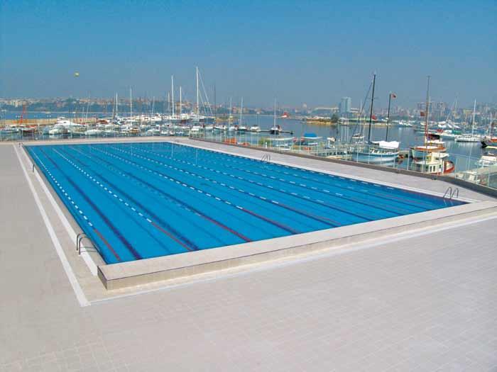 FENERBAHCE SPORT CLUB - OLYMPIC POOL - ISTANBUL - TURKEY
