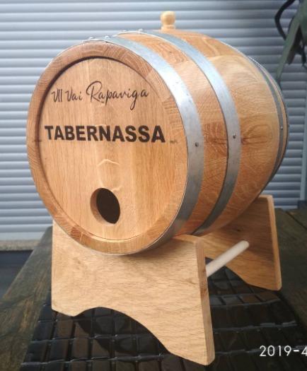Bag in box barrel