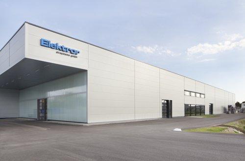 Produktionszentrum in Waghäusel, DE
