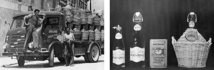 MONINI S.P.A. dettaglio produzione: l'inizio della produzione massiva nel 1930
