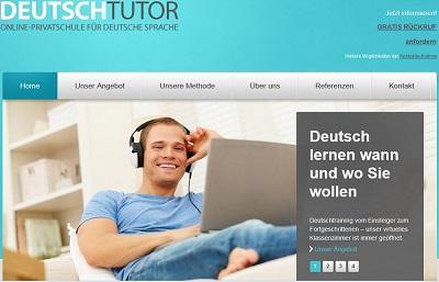Online-Privatschule für deutsche Sprache - maßgeschneiderte Deutschkurse für Fach-und Führungskräfte, Prüfungsvorbereitung u.v.m. / Private German Language School - customized German language training