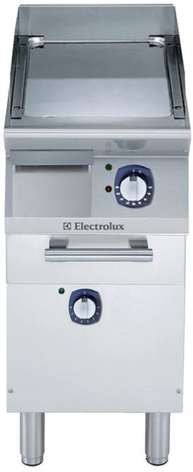 Fry top elettrico serie 700 XP con piano di cottura in acciaio 510c o al cromo