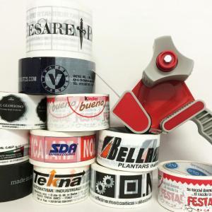 Custom printed adhesive tapes