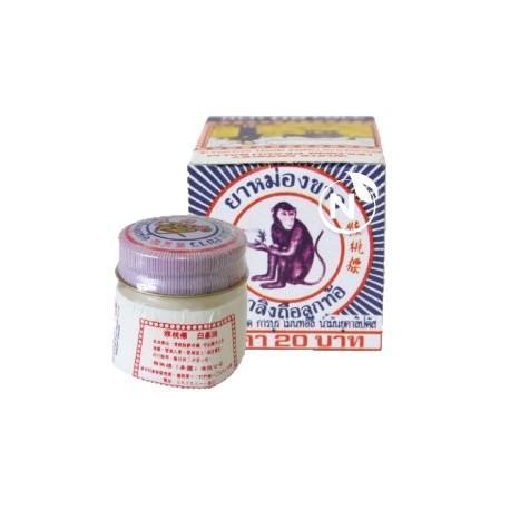 Le baume du singe est très connu en Asie, c'est même le baume médicinal naturel le plus vendu et le plus réputé de Thaïlande. Il est utilisé depuis très longtemps par les familles thaïlandaises...