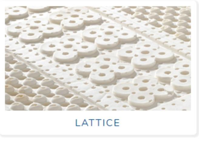 materasso in lattice