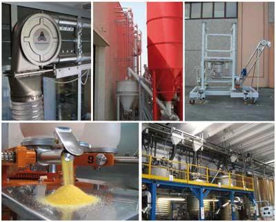 Impianti ed attrezzature per la produzione di concimi e fertilizzanti