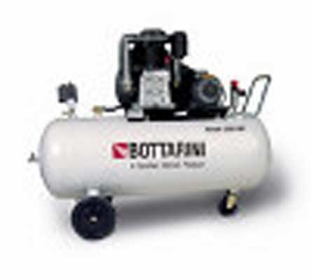 Gamma di elettrocompressori a pistoni Fortek con potenze da 1,1 a 7,5 kW, compressori silenziati SILTEK con potenze da 1,5 a 7,5 kW e rumorosità inferiore a 68 dB (A).