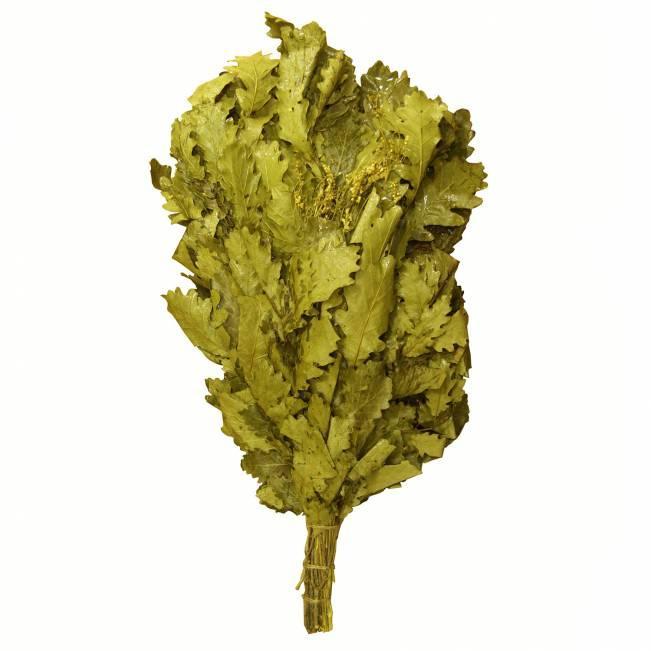 Доступны следующие варианты: береза, дуб, эвкалипт; дуб в комбинации с мятой, донником, таволгой, липой, эвкалиптом, чернокленом.