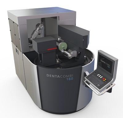 Das Verzahnen und Anfasen von Kreissägen aus HSS und Vollhartmetall erledigt die DENTA COMBI 160 in einem Arbeitsgang und autonom bis zu 24 Stunden lang.