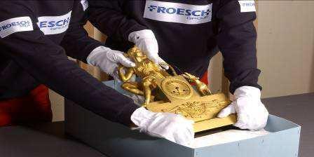 FROESCH Koblenz - clock packing