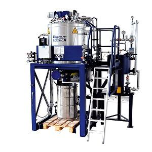 The new ROTOmaX-e vaporizes and condenses used solvent in a sustainable process, minimizing the quantity of highly viscous waste. Once the solvent in the distillation vessel reaches a predefined level