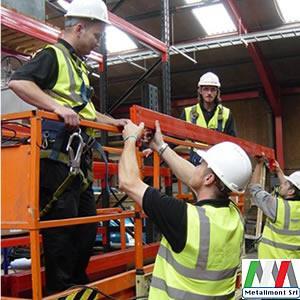 Squadra montatori scaffalature per montaggi e smontaggio scaffalature pesanti