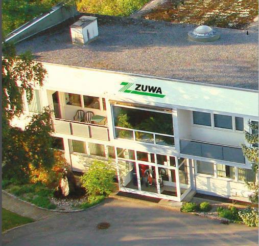 Firmengebäude von ZUWA – Pumpen, Spritzgeräte & Spülstationen