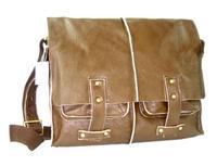 Leather Messenger Bag 4189