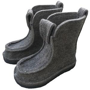 100% wool shoes