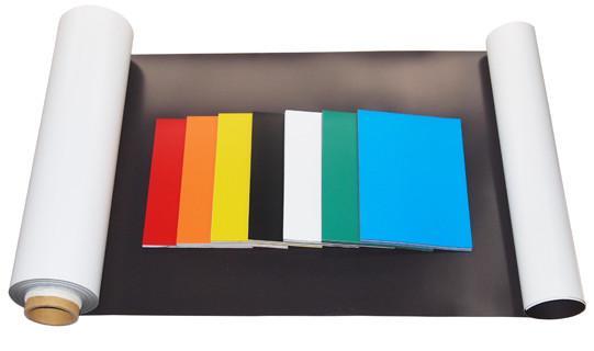 Vinyl laminated magnet