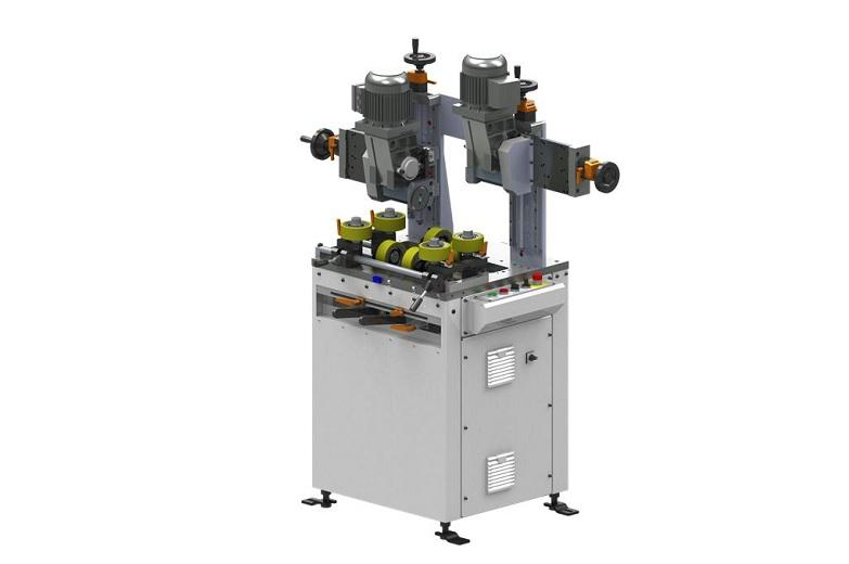 A stand-alone machine for the knurling of the extrusion's cavity.