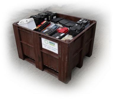 lead acid batteries recycling
