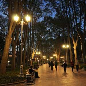Gülhane Park Lighting Project