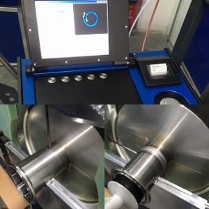 Συγκόλληση με αυτόματη μηχανή Orbital φαρμακευτικής σωλήνας Φ38,1 316L SF1 Ra>0.4. Χρήση WFI & PW