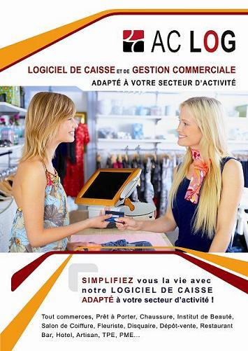 gestion magasin ac log (logiciel de caisse et encaissement)