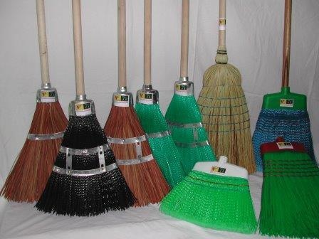 All type brooms for outdoor use