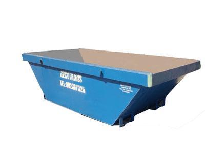 Contenedor de residuos para obras
