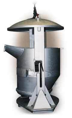 Flüssigmetall-Transport Krangehänge