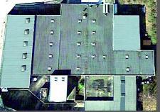 Gebäude von oben