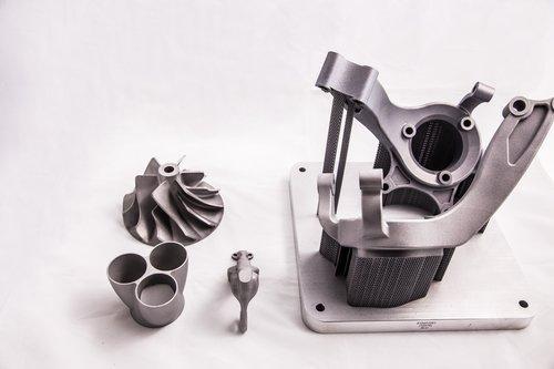 Metall-Laserschmelzen, 3D Druck Metall