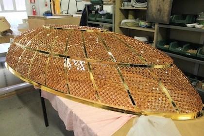 Plafoniera Oro Navale