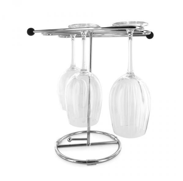 Idéal pour égoutter vos verres après les avoir nettoyés. Pratique : Se démonte pour un rangement facile. Diamètre : 34 cm Hauteur : 30 cm