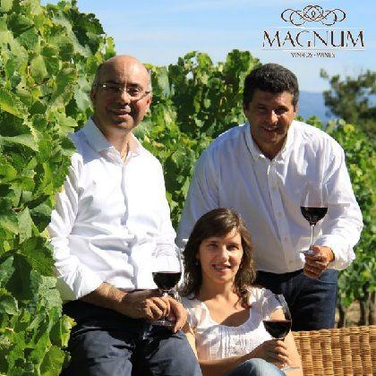 Carlos Lucas, Lúcia Freitas e Carlos Rodrigues fazem vinhos em conjunto desde 2005