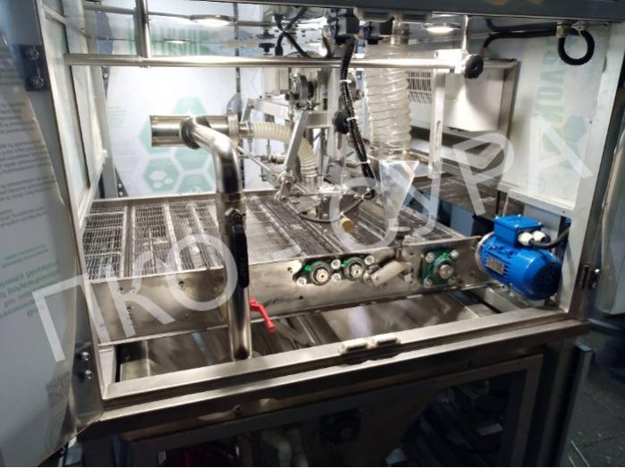Сура-УД decorator in a glazing machine