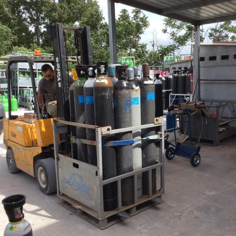 GAS SERVICE Stoccaggio bombole