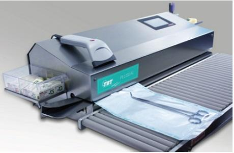 PLUSEAL Series Rotray Sealers and Impulse Sealers:  * Printer * Touchscreen * 14 m/sec sealing speed * Completely from AISI 304 stainless steel